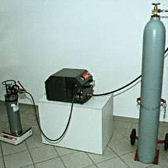 Зарядная станция для углекислотных огнетушителей